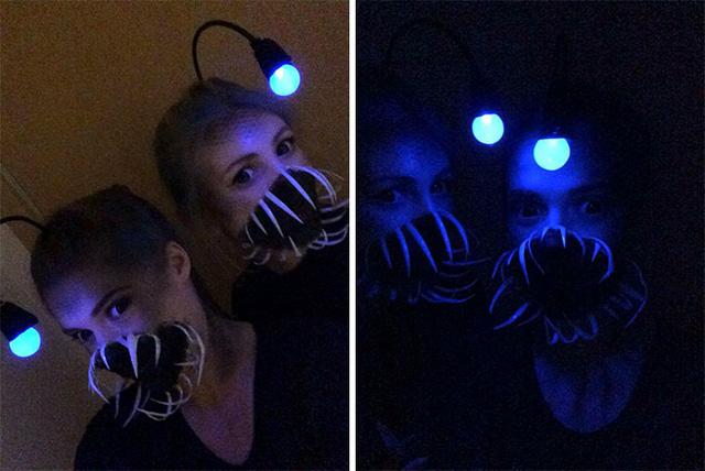 Biến hóa thành ma quỷ xưa rồi, đây mới là cách hóa trang Halloween kiểu mới khó đụng hàng - Ảnh 3.