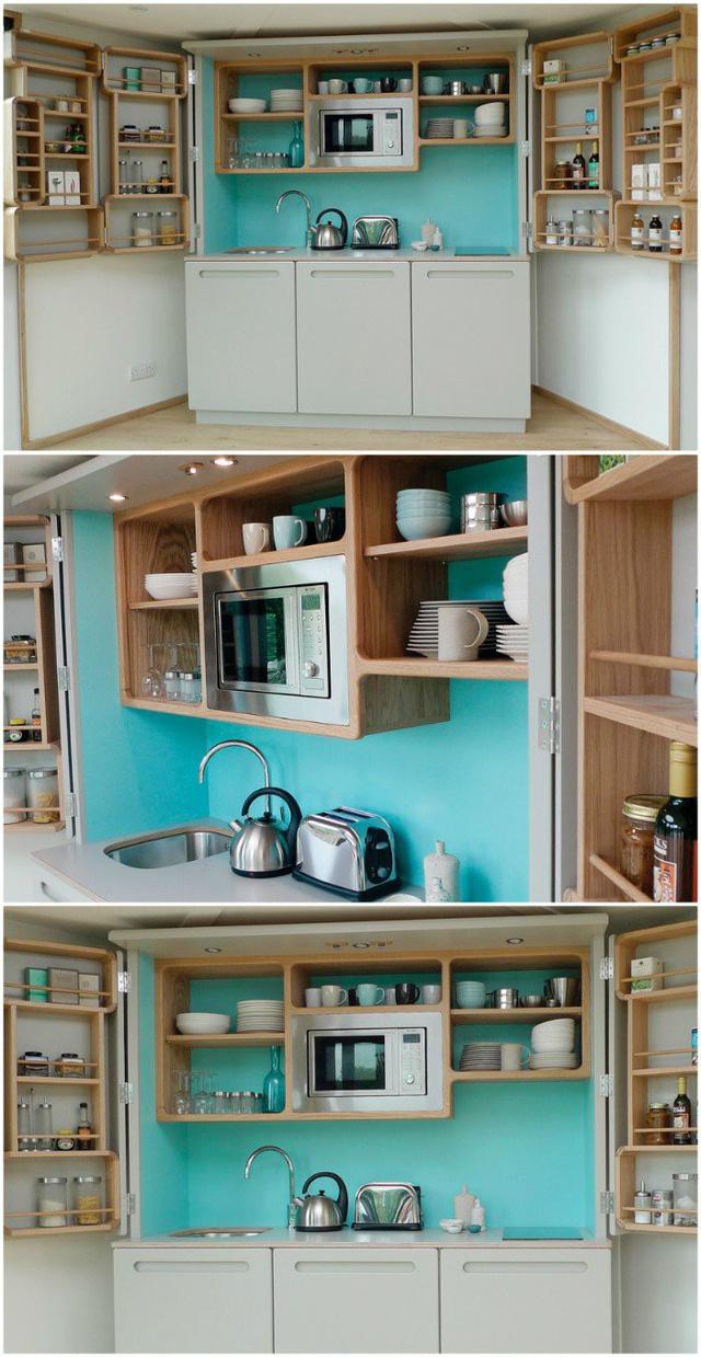 Những gian bếp đóng hộp hiện đại bà nội trợ nào cũng ước ao - Ảnh 8.