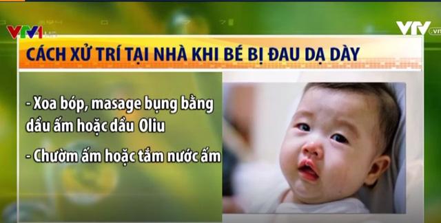Triệu chứng và cách xử trí đau dạ dày ở trẻ em - ảnh 3