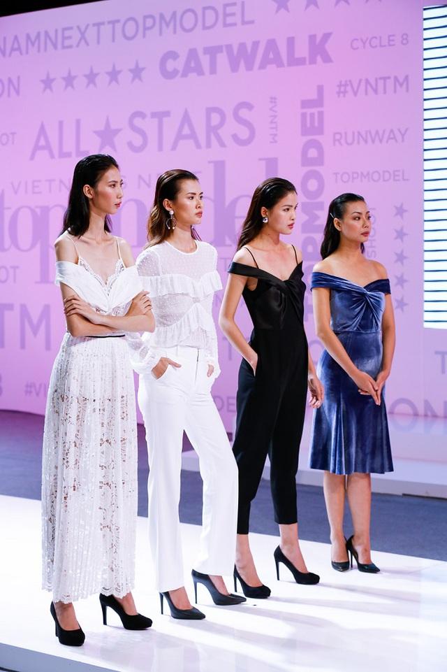 Vietnams Next Top Model 2017: Kim Dung thế chỗ Chà Mi ở nhà chung, Lại Thanh Hương dừng bước - Ảnh 2.