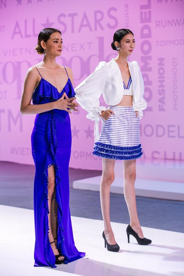 Vietnams Next Top Model 2017: Chà Mi làm thủ lĩnh nhà chung, chị đại Hoàng Oanh dừng bước - Ảnh 4.