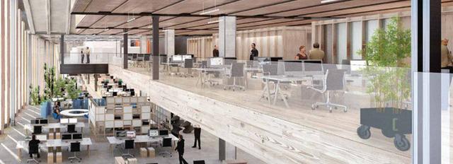 Lộ hình ảnh trụ sở mới đẹp như mơ của Google tại London - Ảnh 2.