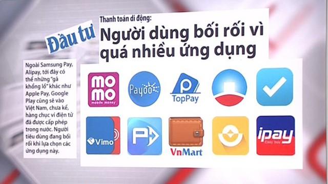 Thanh toán di động ở Việt Nam: Người dùng bối rối vì quá nhiều! - Ảnh 1.