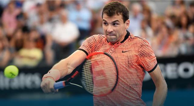Brisbane International 2017: Nishikori và Dimitrov vào chung kết - Ảnh 2.