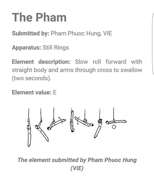 Phạm Phước Hưng khai sinh thêm động tác thể dục thế giới - Ảnh 1.