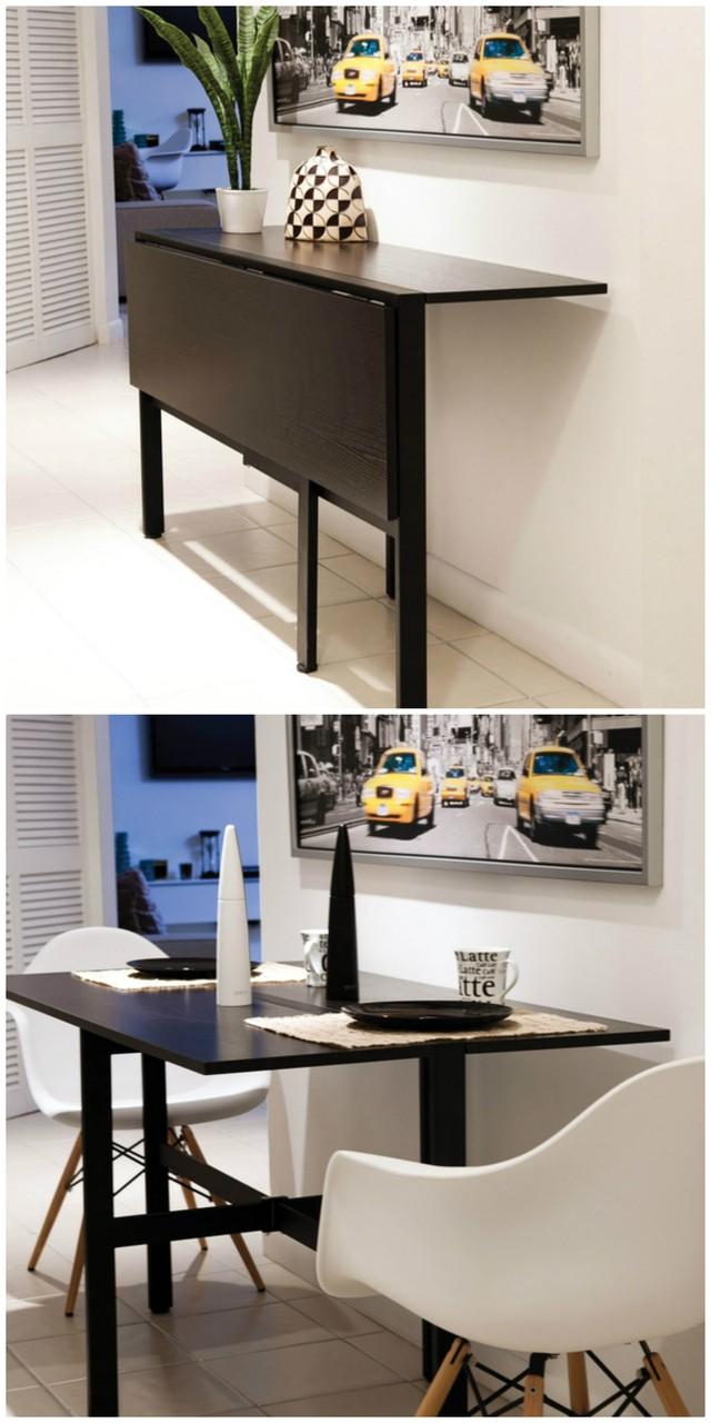 Ý tưởng đưa những bộ bàn ăn độc đáo vào không gian nhỏ hẹp - Ảnh 12.