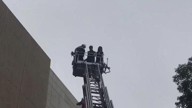 Diễn tập phương án chữa cháy và cứu hộ tại tầng 16 tòa nhà Trung tâm Đài THVN - Ảnh 6.