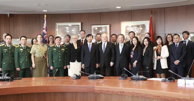 Đối thoại Chiến lược Ngoại giao và Quốc phòng Việt Nam - Australia lần thứ 5 - Ảnh 1.