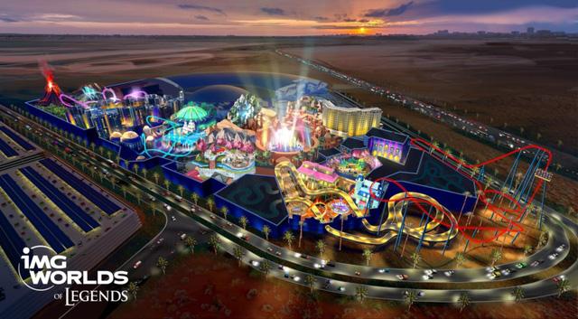 Công viên giải trí - Thỏi nam châm hút khách tới Dubai - Ảnh 1.