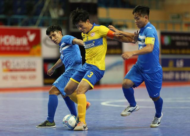 Thái Sơn Nam thắng đậm trong ngày khởi tranh giai đoạn lượt về giải futsal VĐQG HD Bank 2017 - Ảnh 2.