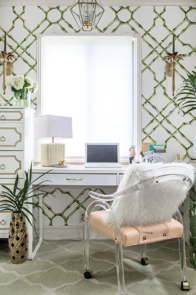 Tạo điểm nhấn nổi bật cho không gian trong nhà bằng màu xanh lá dịu mát - ảnh 1