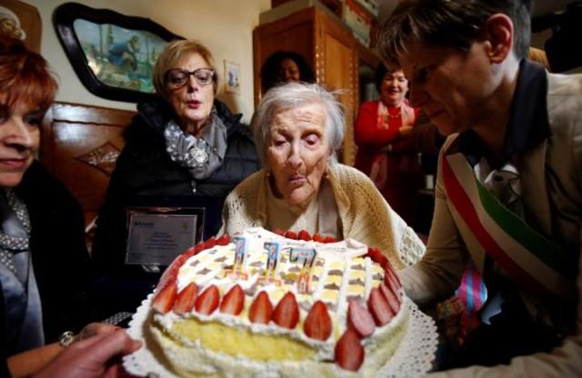 Người già nhất thế giới qua đời ở tuổi 117 tại Italy - Ảnh 1.