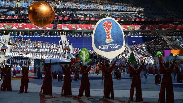 Chùm ảnh: Ấn tượng lễ khai mạc Cúp Liên đoàn các châu lục 2017 - Ảnh 13.