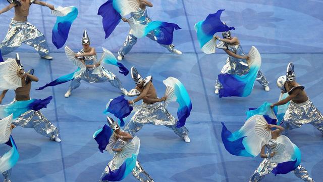 Chùm ảnh: Ấn tượng lễ khai mạc Cúp Liên đoàn các châu lục 2017 - Ảnh 20.