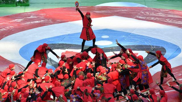Chùm ảnh: Ấn tượng lễ khai mạc Cúp Liên đoàn các châu lục 2017 - Ảnh 16.