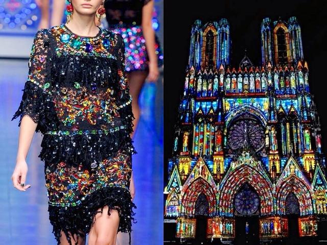 Những thiết kế thời trang siêu độc được thổi hồn từ kiến trúc - Ảnh 3.