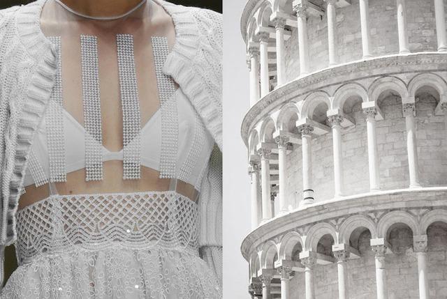 Những thiết kế thời trang siêu độc được thổi hồn từ kiến trúc - Ảnh 4.