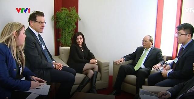 Thủ tướng tiếp lãnh đạo các tập đoàn hàng đầu thế giới - Ảnh 3.