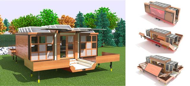 Choáng với những thiết kế nhà di động có thể dịch chuyển muôn nơi - Ảnh 4.