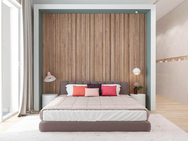 Những gợi ý cho phòng ngủ vừa sang trọng vừa hiện đại với nội thất bằng gỗ - Ảnh 19.