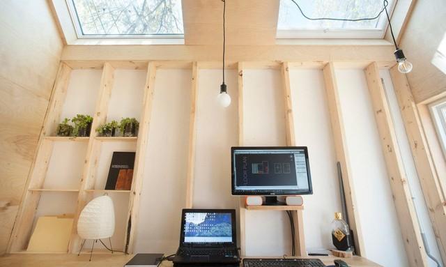 Studio làm việc siêu nhỏ với khoảng không gian tiện ích - Ảnh 5.