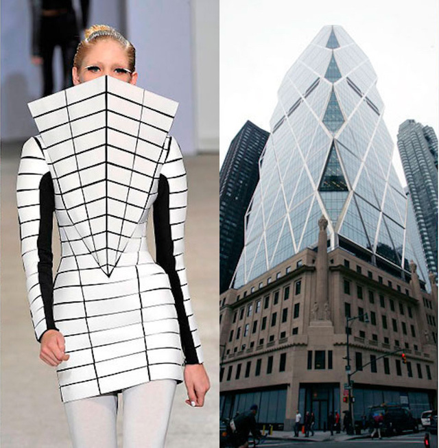 Những thiết kế thời trang siêu độc được thổi hồn từ kiến trúc - Ảnh 2.