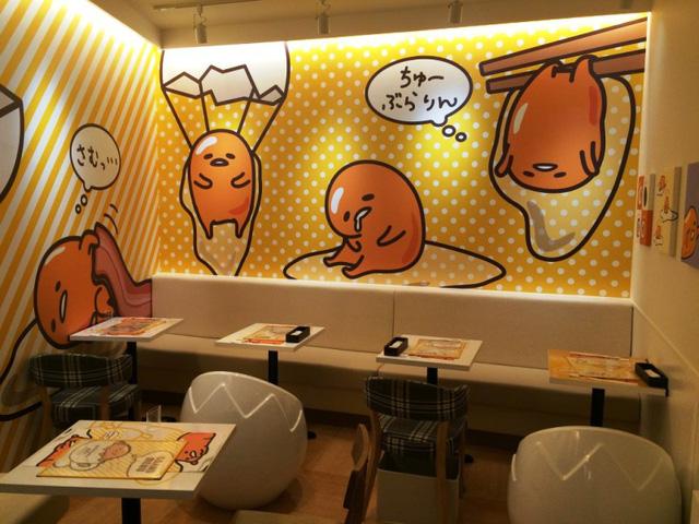 Khám phá quán cà phê trứng lười Gudetama - Ảnh 5.