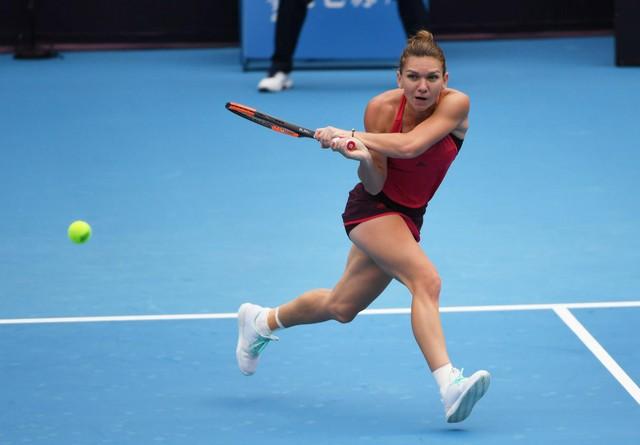 Thua Simona Halep, Sharapova dừng bước ở giải quần vợt Trung Quốc mở rộng 2017 - Ảnh 1.