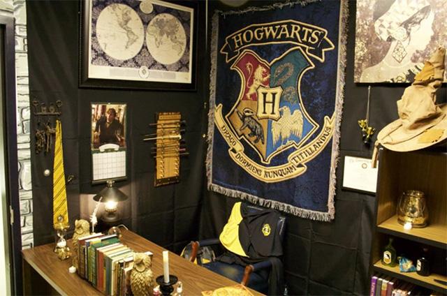 Ngỡ ngàng lớp học được hô biến thành không gian phép thuật trong Harry Potter - Ảnh 6.