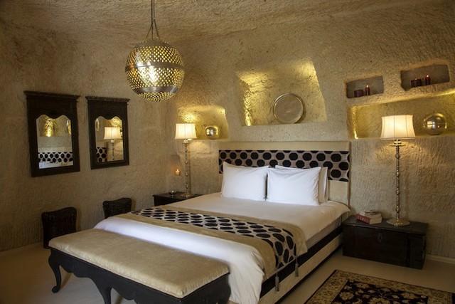 Những khách sạn hang đá độc đáo ở Thổ Nhĩ Kỳ - Ảnh 9.