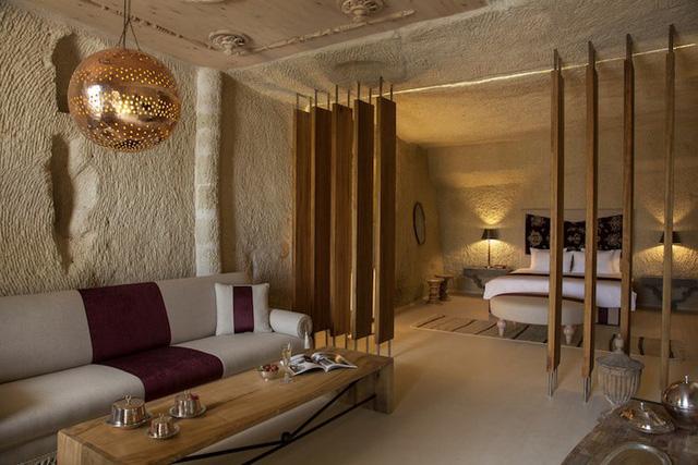 Những khách sạn hang đá độc đáo ở Thổ Nhĩ Kỳ - Ảnh 8.