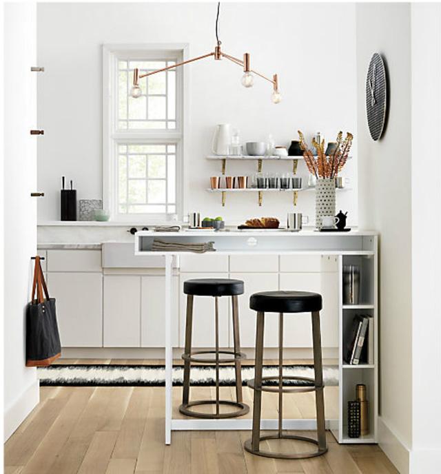 Ý tưởng đưa những bộ bàn ăn độc đáo vào không gian nhỏ hẹp - Ảnh 4.