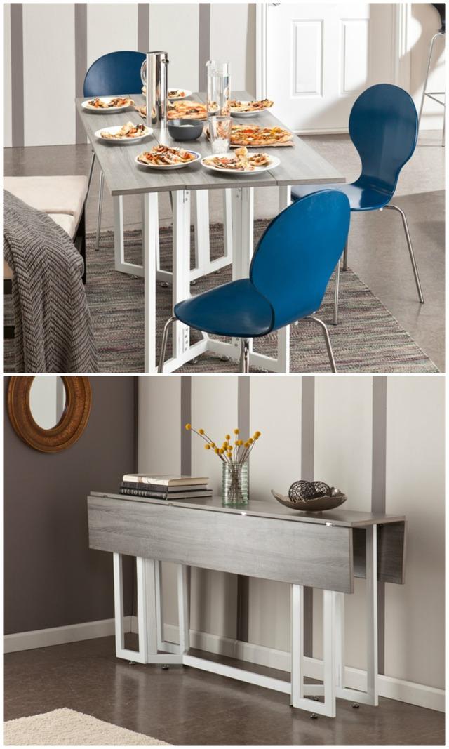 Ý tưởng đưa những bộ bàn ăn độc đáo vào không gian nhỏ hẹp - Ảnh 2.