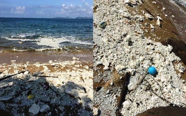 Đóng cửa 13 bãi biển ở Hong Kong (Trung Quốc) sau sự cố tràn dầu - Ảnh 1.