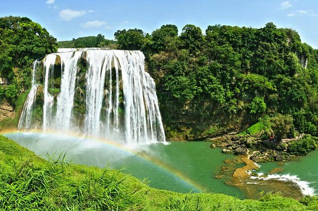 Chiêm ngưỡng thác nước hùng vĩ ở Quý Châu, Trung Quốc - Ảnh 5.