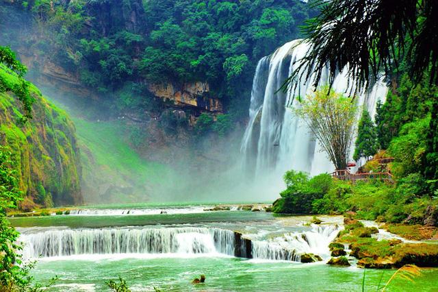 Chiêm ngưỡng thác nước hùng vĩ ở Quý Châu, Trung Quốc - Ảnh 6.
