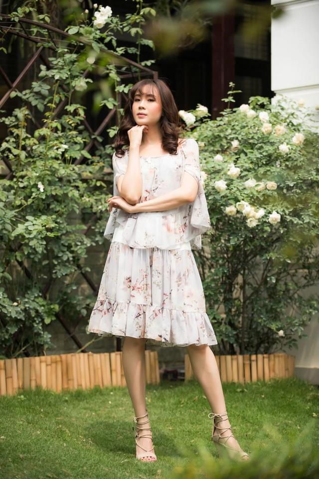 Nữ diễn viên Cầu vồng tình yêu Hồng Diễm ngày càng xinh đẹp - Ảnh 2.