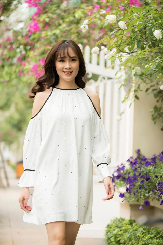 Nữ diễn viên Cầu vồng tình yêu Hồng Diễm ngày càng xinh đẹp - Ảnh 4.