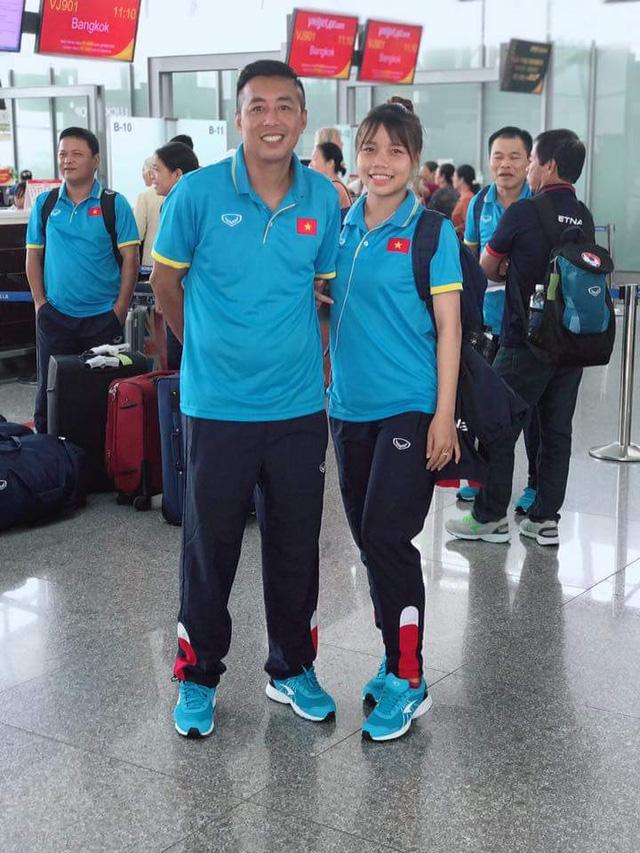 ĐT U19 nữ Việt Nam lên đường tham dự VCK U19 nữ châu Á 2017 - Ảnh 3.