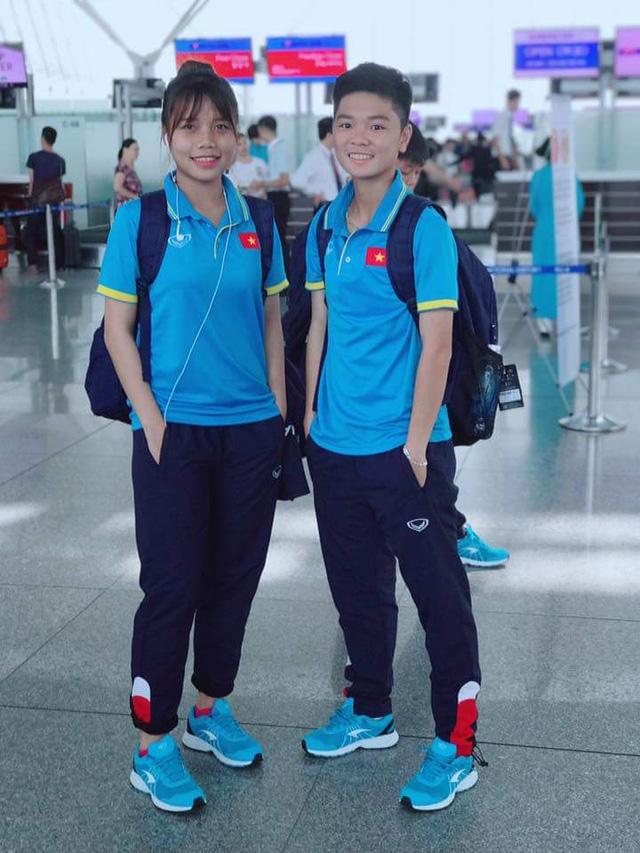 ĐT U19 nữ Việt Nam lên đường tham dự VCK U19 nữ châu Á 2017 - Ảnh 2.
