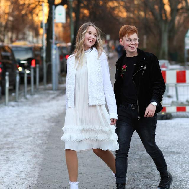Ngắm thời trang đường phố Berlin thanh lịch và đậm nét cá tính - Ảnh 4.