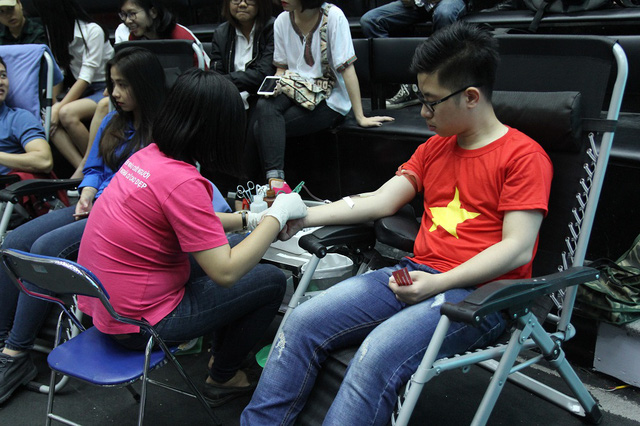 Một giọt máu, một tấm lòng - Nghĩa cử cao đẹp của những người làm truyền hình VTV - Ảnh 8.