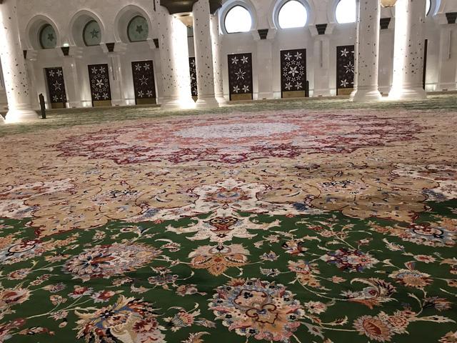 Nhà thờ Hồi giáo Sheikh Zayed (UAE) – Viên ngọc sáng giữa sa mạc - Ảnh 9.