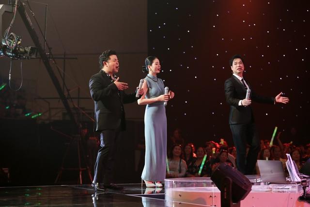 Ngọc Sơn, Lệ Quyên, Quang Lê dàn hàng ngang đọ giọng cùng thí sinh Thần tượng Bolero - Ảnh 1.