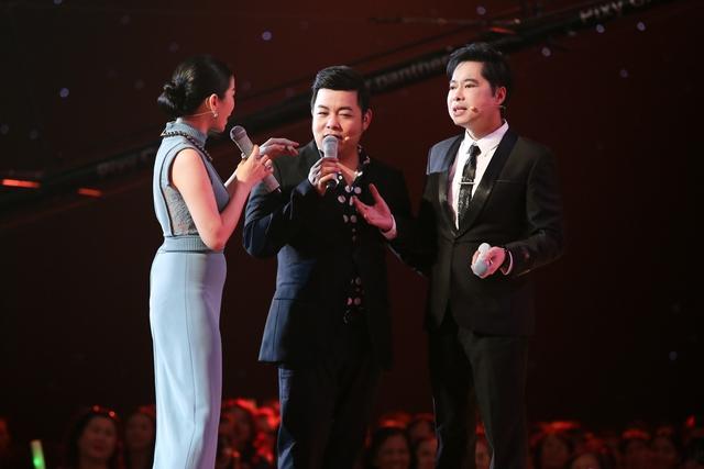 Ngọc Sơn, Lệ Quyên, Quang Lê dàn hàng ngang đọ giọng cùng thí sinh Thần tượng Bolero - Ảnh 2.