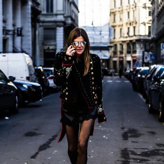 Mê hoặc thời trang thanh lịch trên đường phố Milan - Ảnh 11.
