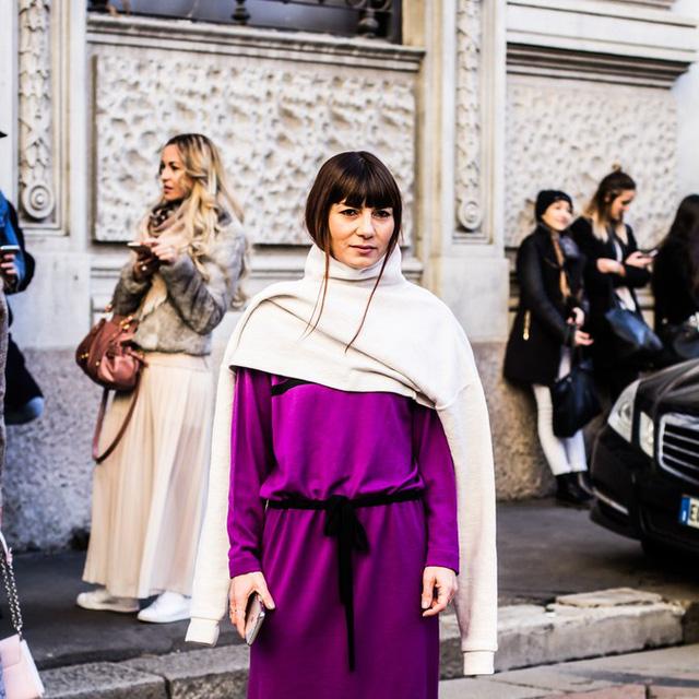Mê hoặc thời trang thanh lịch trên đường phố Milan - Ảnh 16.