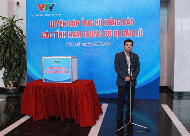 Đài THVN tổ chức lễ quyên góp ủng hộ đồng bào các tỉnh Nam Trung Bộ bị bão lũ - Ảnh 1.