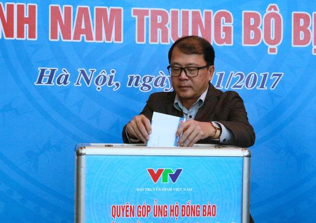 Đài THVN tổ chức lễ quyên góp ủng hộ đồng bào các tỉnh Nam Trung Bộ bị bão lũ - Ảnh 7.