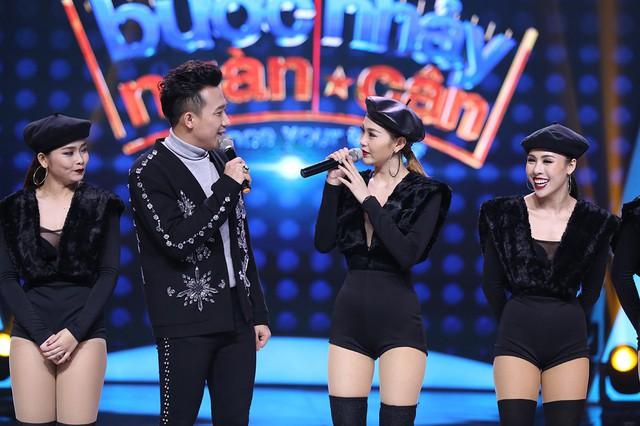 Minh Hằng khoe vòng eo con kiến trong chung kết Bước nhảy ngàn cân 2017 - Ảnh 1.